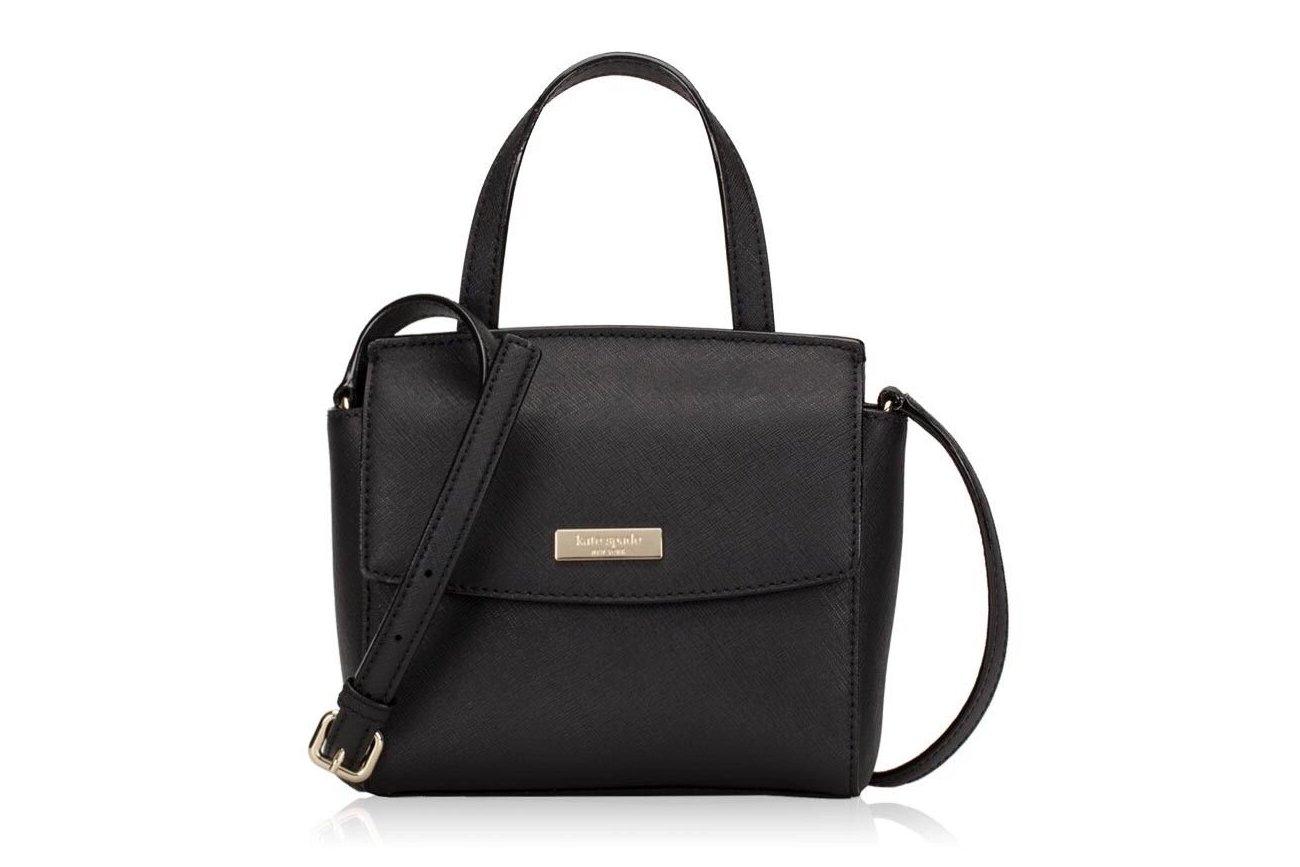 Kate Spade Laurel Way Mini Alisanne Crossbody Bag Black