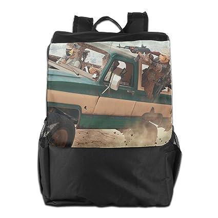 Amazon Com Coototo Pubg Unisex High Capacity Canvas Travel Bag