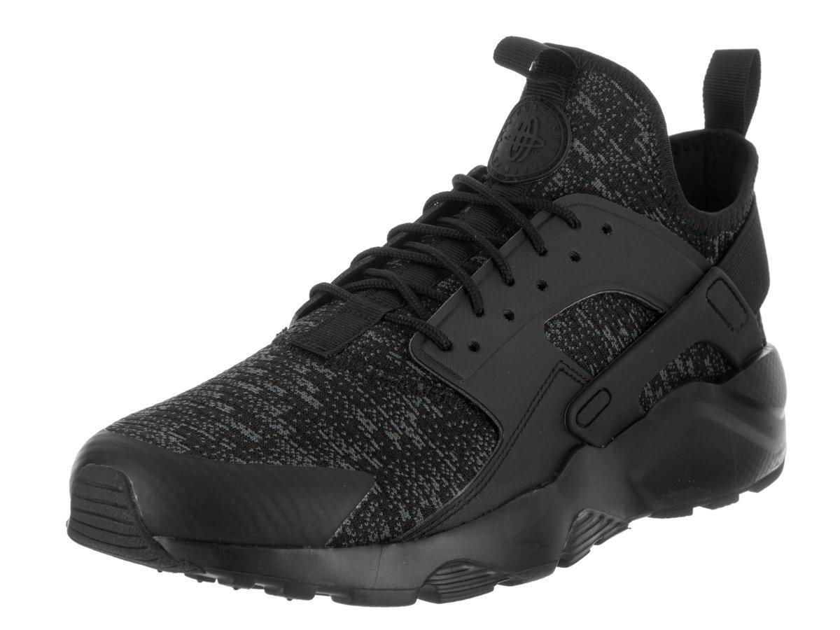 Nike Herren Air Huarache Run Ultra SE Leder Sneaker  40 EU|Schwarz (Black/Dark Gray/Wolf Gray)