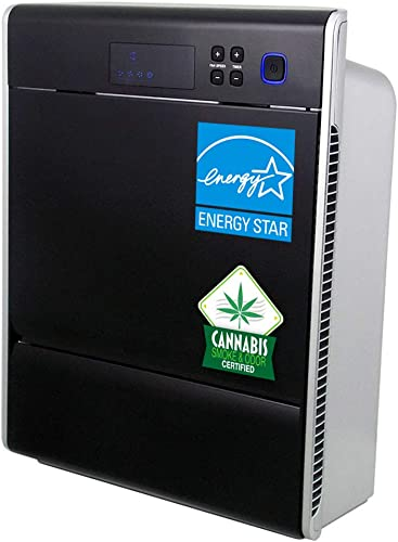 Asept-Air LIFE CELL 2550PP 5-Stage Air Purifier with Washable Prefilter, 2-stage 99.97 TRUE HEPA and 2-stage Carbon filters with 2Lbs of granular activated carbon, for larger spaces up to 2,500ft2