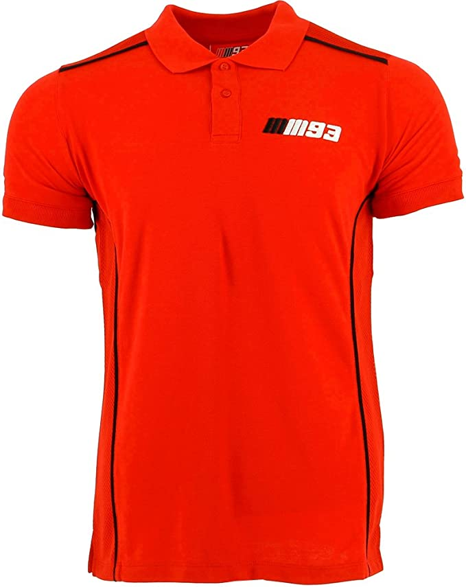 Marc Marquez 93 Moto GP Team Apparel rojo camisa polo Oficial 2017 ...
