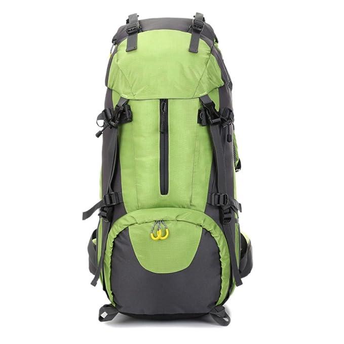 snfgoij Mountain Bag Montañismo Escalada Mochila Para Hombres Bolsa De Montañismo Impermeable Mochila Al Aire Libre A Prueba De Agua 60L: Amazon.es: Ropa y ...