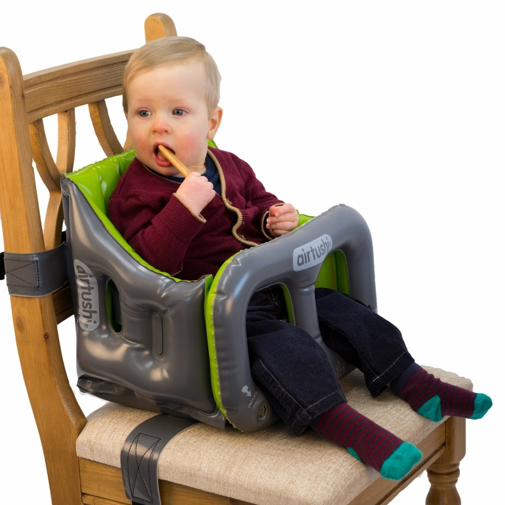 Amazon.com : Airtushi   Fully Soft U0026 Padded Inflatable Travel High Chair By  Roamwild : Baby