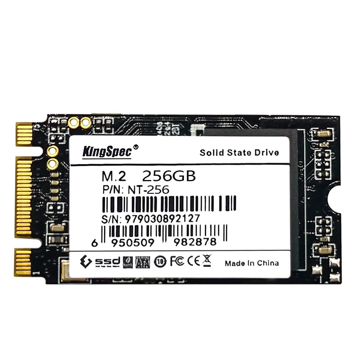 KingSpec 2242 NGFF 256GB M.2 SSD SATA III 6Gb/s Internal Solid State Drive for Ultrabook (256GB)... ...