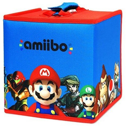 HORI amiibo 8 Figure Travel Case Mario and Friends (Sectional German)