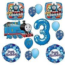 Thomas the Tank Engine Train 3rd Happy Birthday Balloon Kit
