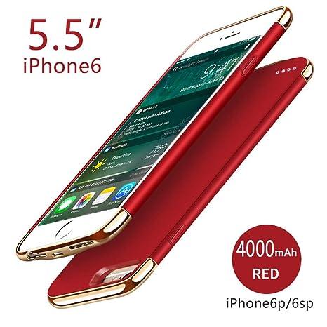 FugouSell Funda Batería iPhone 6 Plus, Ultra Thin Carcasa ...