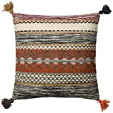 Loloi P0433 Wool and Cotton Pillow Cover