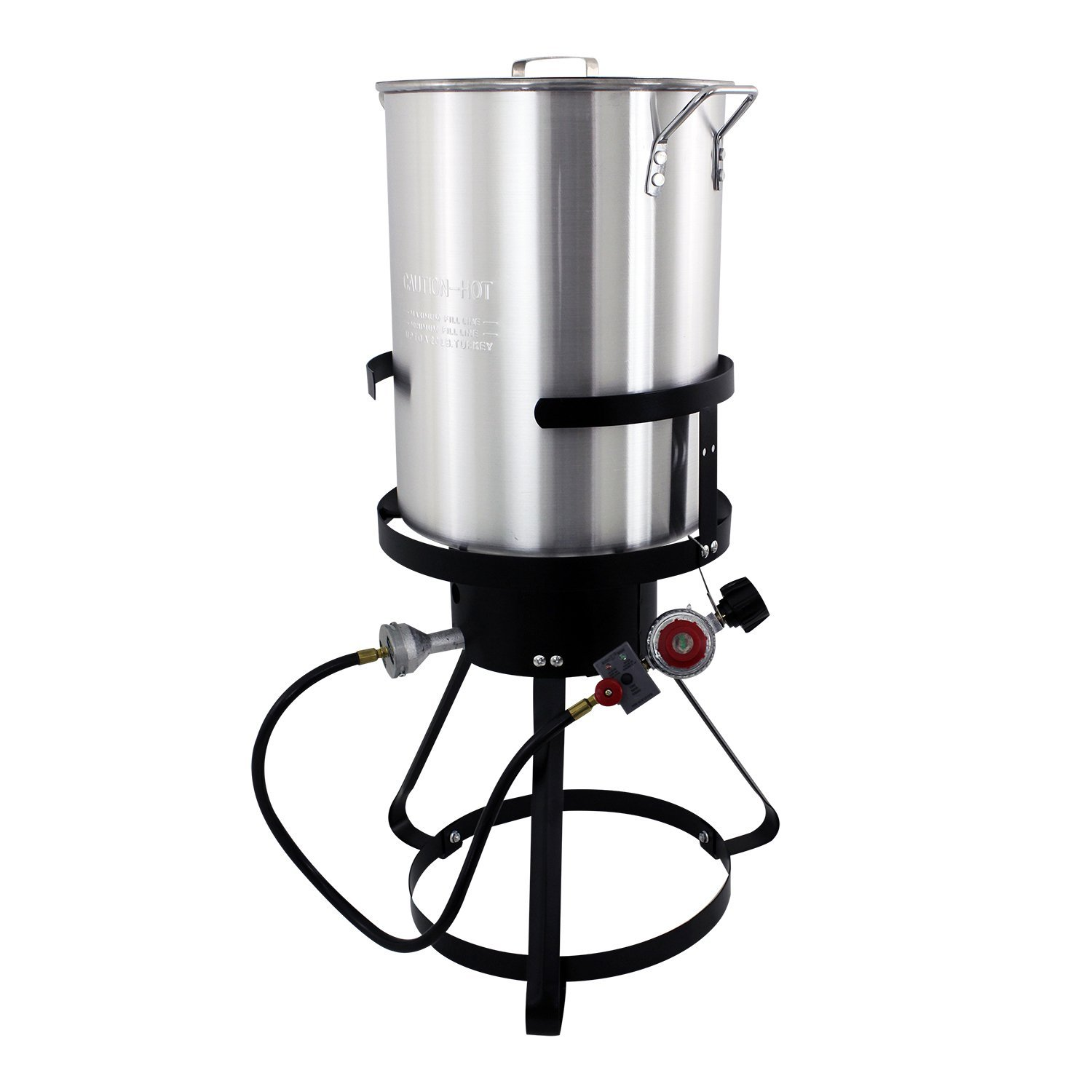 Chard TFP30A Aluminum Turkey Fryer Pack, 30 Quart by Chard