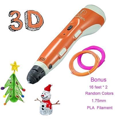 3d Pen Filamento impresora 3d para niños, Amohadilla para dibujo de ...