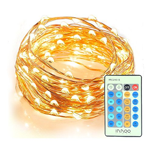 InnooLight Indoor Starry String Lights, 100 Led Firefly Lights 33ft