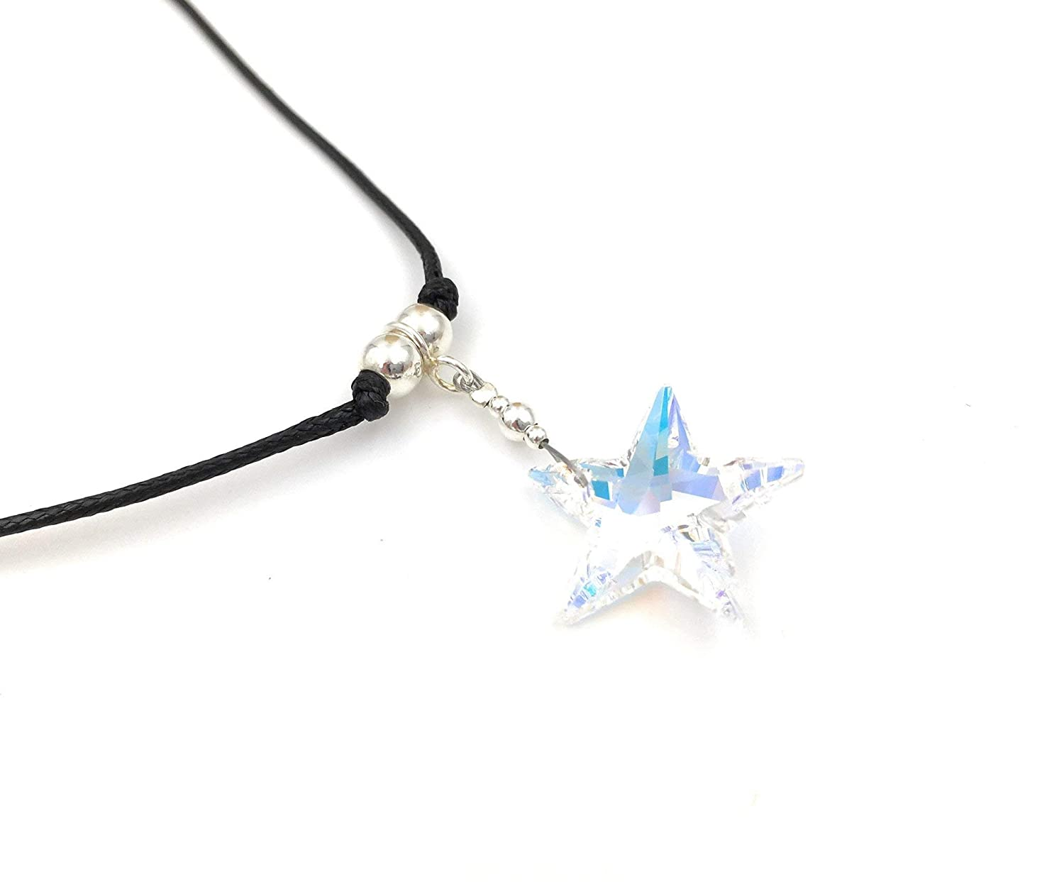 Northern Star Pendant Polished Sterling Silver