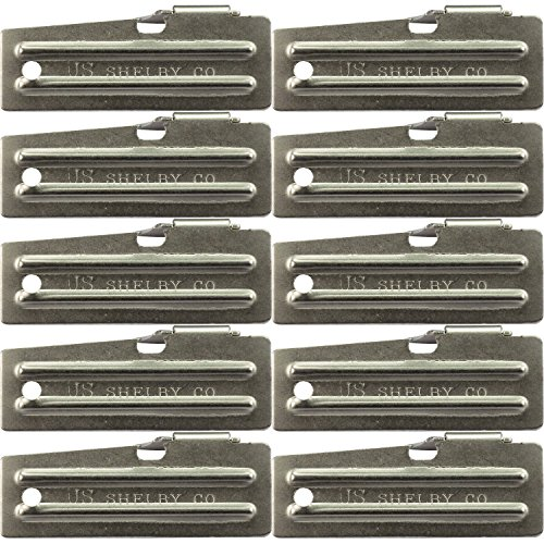 10 Pack Survival Kit Can Opener, Military, P-51 Model ()