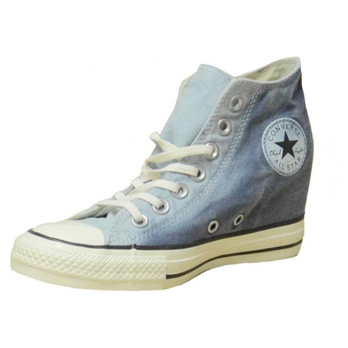 2converse all star zeppa interna donna