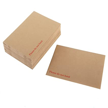 Hard Board Backed Manilla Envelope Do Not Bend All Sizes CHEAP /& Quick Delivery