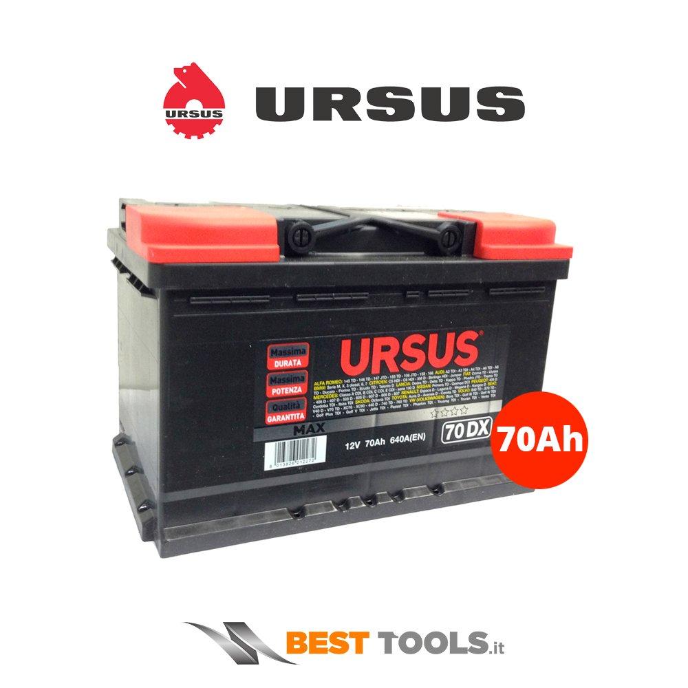 Batteria Auto Ursus 70 Ah Dx