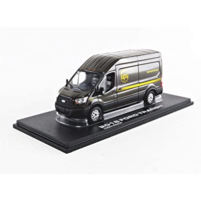 Greenlight 86169 1: 43 2020 Ford Transit LWB High Roof - United Parcel Service (Ups) Worldwide Services: Toys & Games