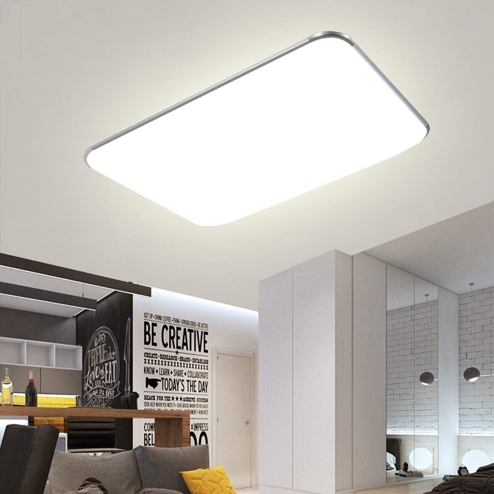 Deckenlampe LED Deckenchte Dimmbar 72W Wohnzimmer Lampe ...