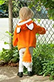 Baby Kids Boys Girls Cute Fox Cloak Hooded Outfits