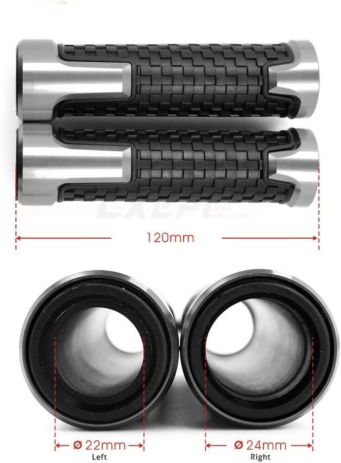 SHUAIFEI 7//8 22mm Motorrad Lenkergriff Lenker Motorradlenkergriffe Teile for BMW Dirtbike F650GS 2008 2009 2010 2011 2012
