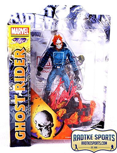 Stan Lee Autographed/Signed Marvel Select Ghost Rider In-Box Action Figure