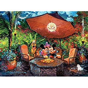 Puzzle Ceaco Disney Fine Art Mickey Minnie Coleman S Paradise 1000pc 3377 6