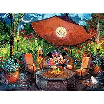 Puzzle Ceaco Disney Fine Art Mickey Minnie Coleman S Paradise 1000pc 3377 6