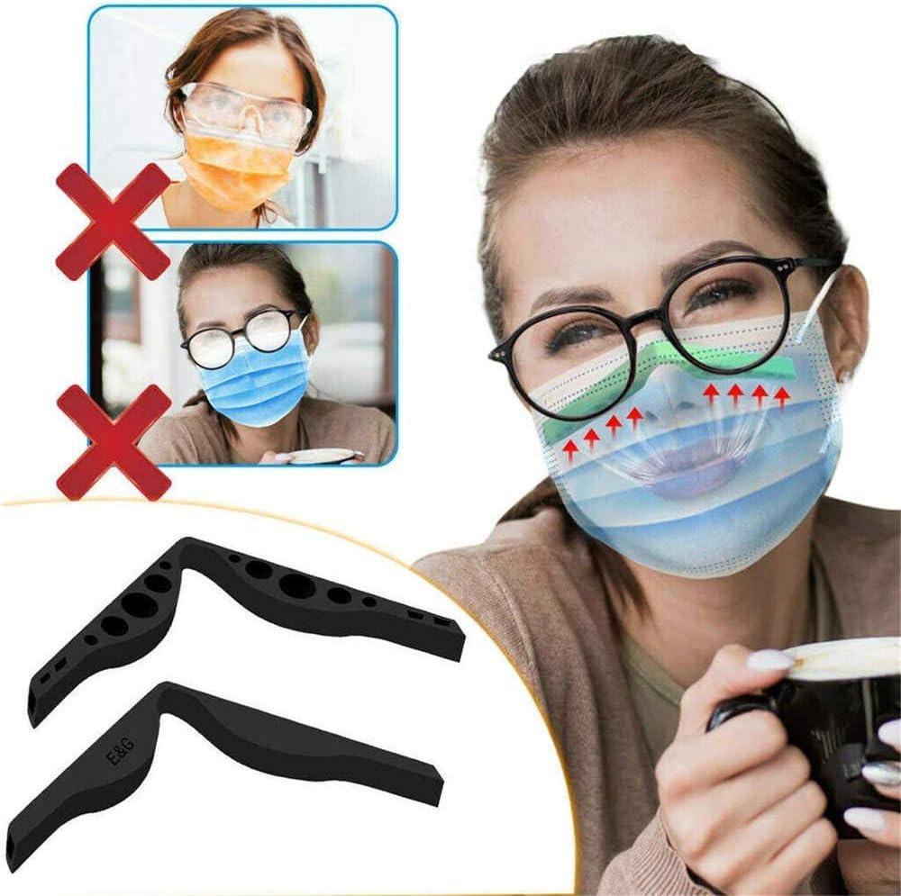 1//5 6pcs Silikon-Anti-Fog-Nasenbr/ücke , Zubeh/ör zur Verhinderung des Beschlagens von Brillen Anti-Fog-Silikon-Nasenbr/ücke von Gesichtsbandanas
