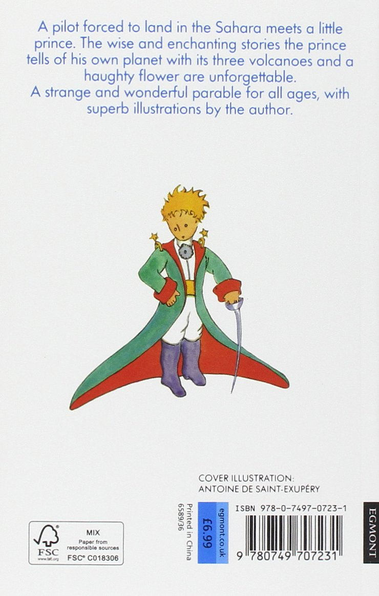 the little prince antoine de saint exupery amazon the little prince antoine de saint exupery 8601300437767 com books