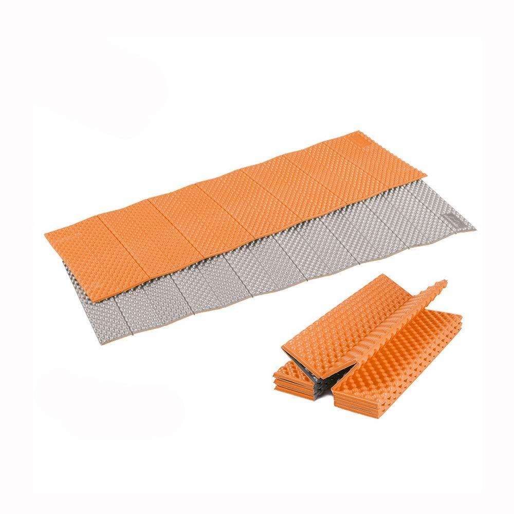 『5年保証』 HUA BEI 屋外折りたたみマットアルミフィルム肥厚マットシエスタマットテントピクニックマット | Single-orange) (色 : Single-orange) Single-orange | BEI B07PKM3W1C, みつあみ:534cfbce --- a0267596.xsph.ru