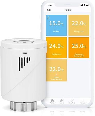 Sans fil numérique thermostat programmable chambre RF stat 7 Jour Minuterie de l'énergie de chauffage