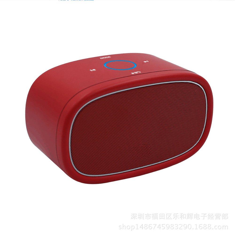 Bluetoothオーディオオフィスビジネス屋外持ち運び小型で便利な電話ラップトップBluetooth接続 ( Color : Red )   B078SH6X6G