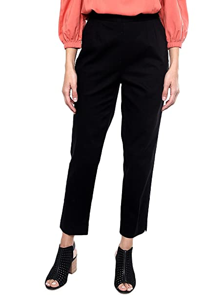 4ce27ce603 Dockers- Pantalón Negro Pantalones para Mujer Negro Talla 34  Amazon ...