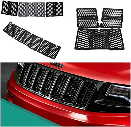 jeep cherokee chrome grill - 6