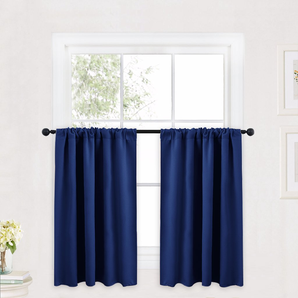 Amazoncom Ryb Home Kitchen Curtains 36 Inch Long For Small Window