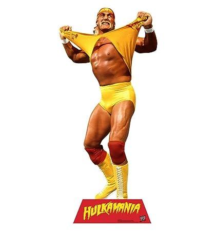 Amazon Hulk Hogan Wwe Advanced Graphics Life Size Cardboard