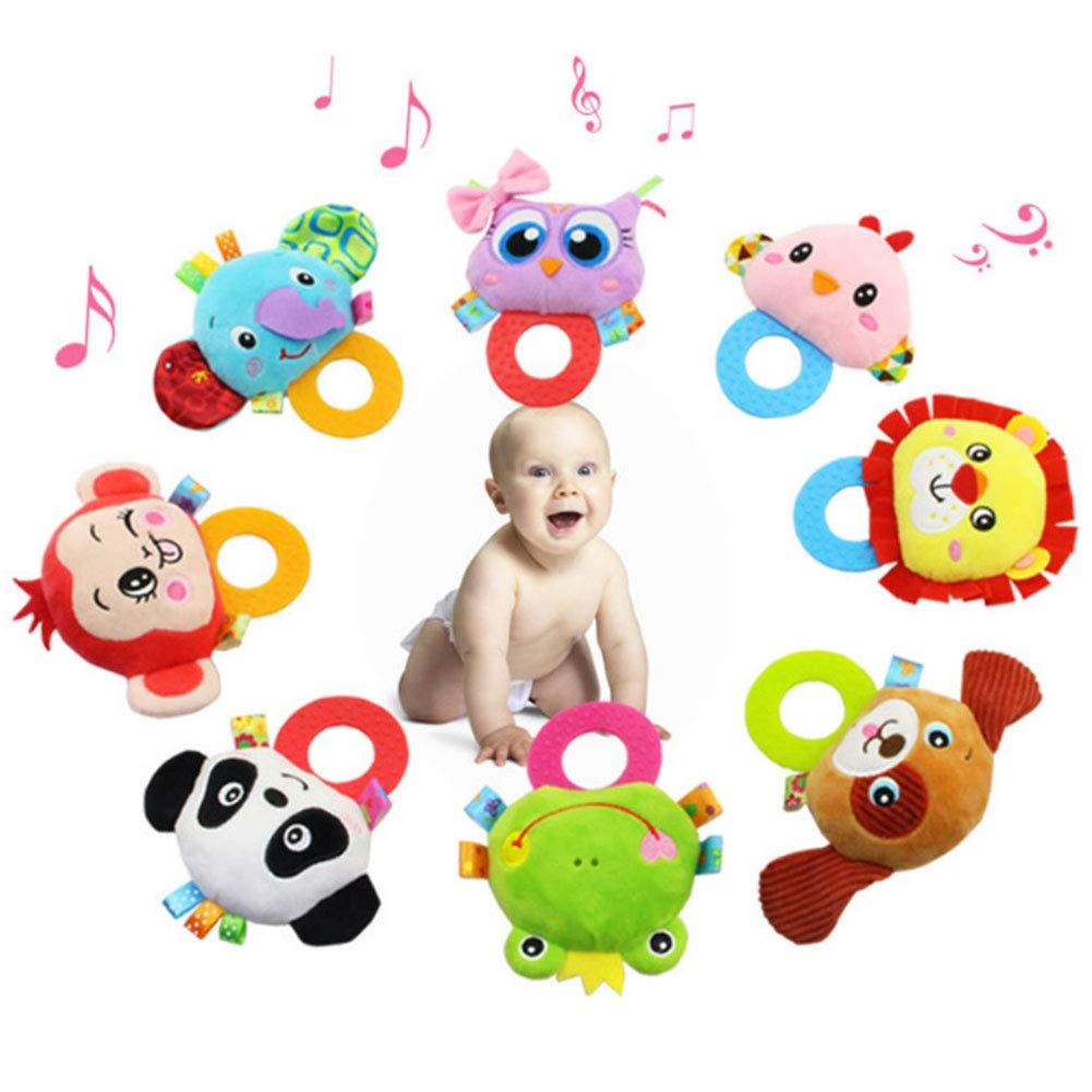 JER Desarrollo Educativo Felpa Musical del beb/é Juguete Suave Colorido Juguete Infantil Juguete Interactivo de Peluche para ni/ños reci/én Nacidos ni/ños y ni/ñas Elefante