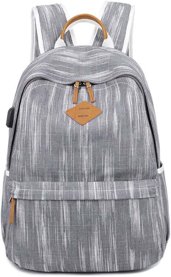 Fashion Student Bag-A Womens Canvas Backpack