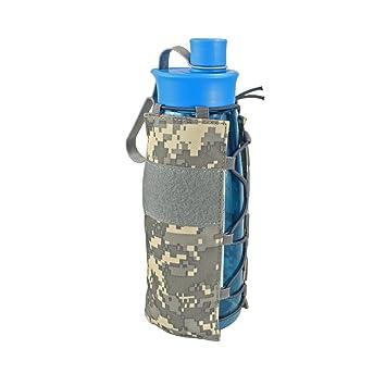Amazon.com: LIVIQILY Tactical Molle - Bolsa de agua militar ...