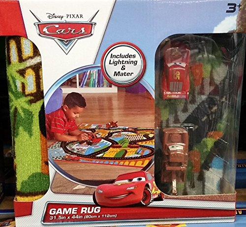 Disney Pixar Cars Racing Game Rug - Disney Cars Racing Rug