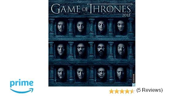 GAME OF THRONES 2018 WALL CALENDAR: Amazon.es: HBO: Libros ...
