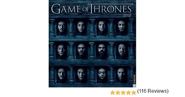 GAME OF THRONES 2018 WALL CALENDAR: Amazon.es: HBO: Libros en ...