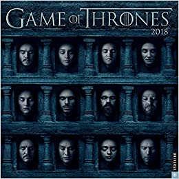 GAME OF THRONES 2018 WALL CALENDAR: Amazon.es: HBO: Libros en ...