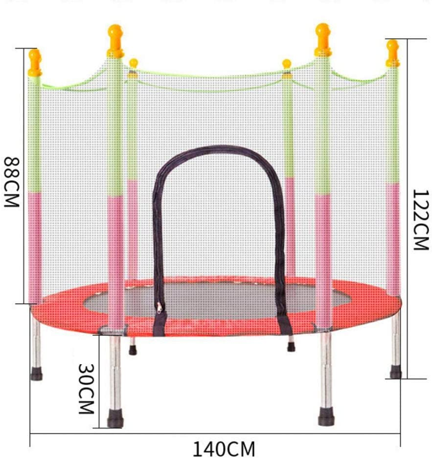 Onorner Trampoline Indoor and Outdoor Round Trampoline Kids Trampoline with Enclosure Net Jumping Mat and Spring Cover Padding