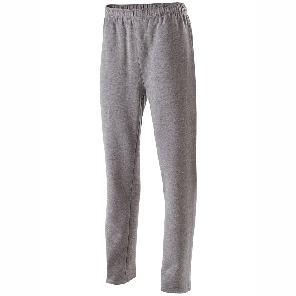 Holloway Adult Fleece Pants (Small, Charcoal Heather)