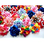 50-Assorted-Roses-Silk-Flower-Head-Size-175-Artificial-Flowers-Heads-Fabric-Floral-Supplies-Wholesale-Wedding-Accessories-Make-Bridal-Hair-Clips-Headbands