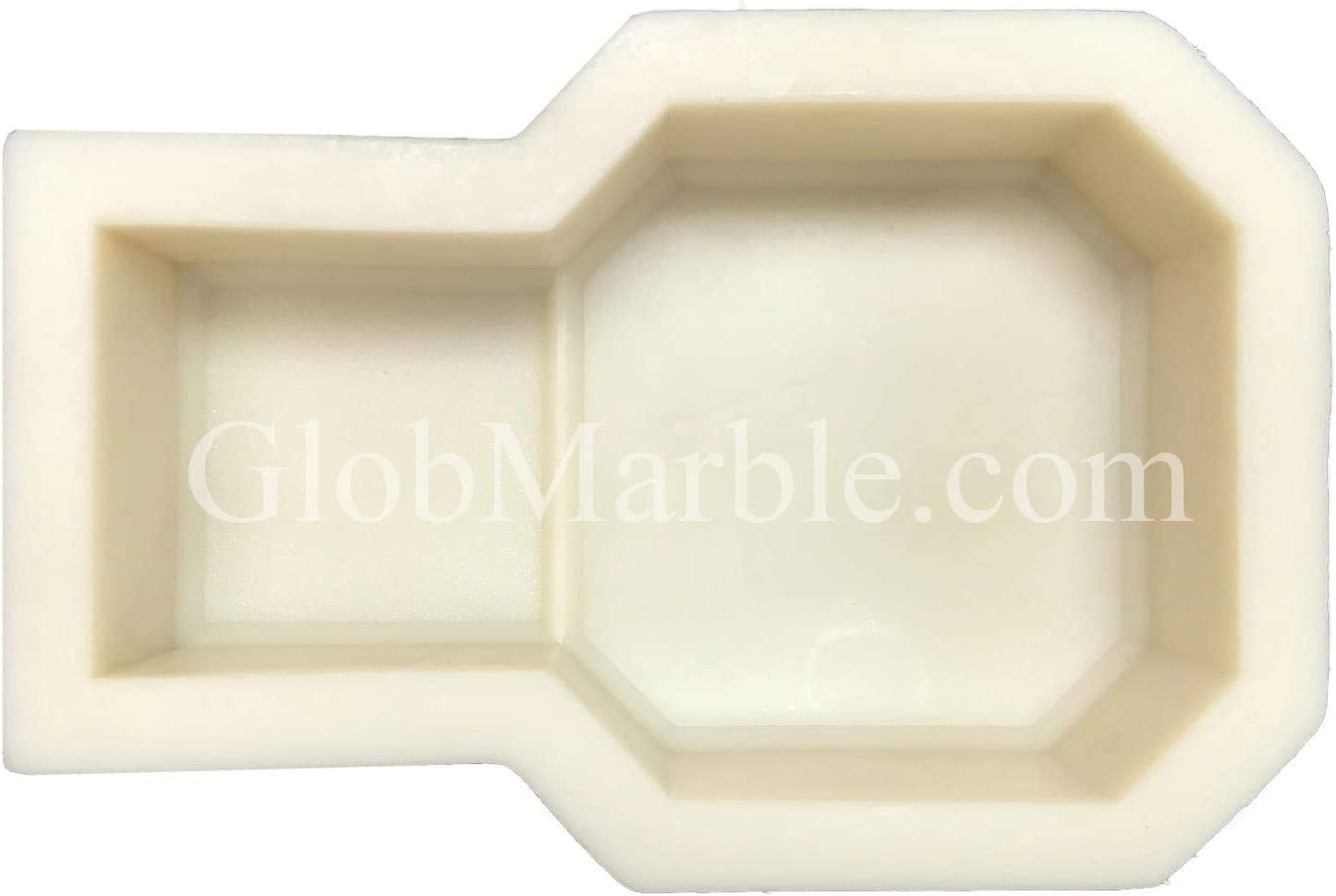 Details about  /Mold for casting sinkers Rhombus 170 gr х 2 places