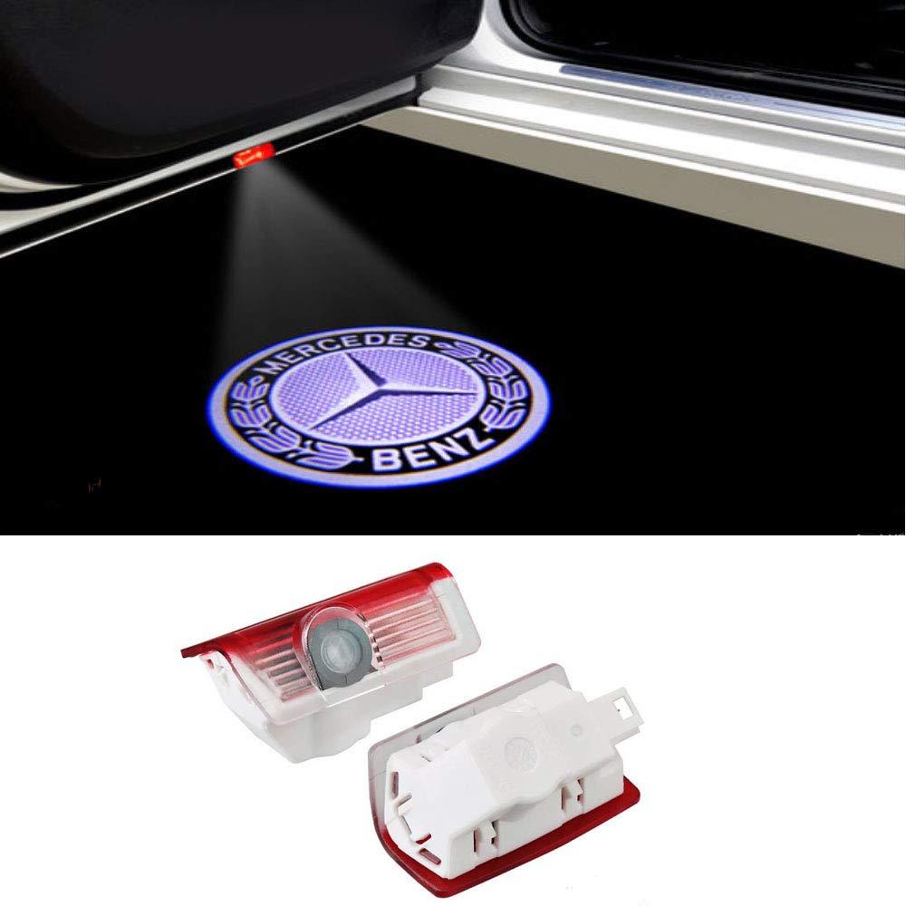DEFOV T/ürbeleuchtung Einstiegsleuchte,Autot/ür Licht 3D Logo Benz W210