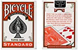 MMS Cards Bicycle Orange Back USPCC Trick