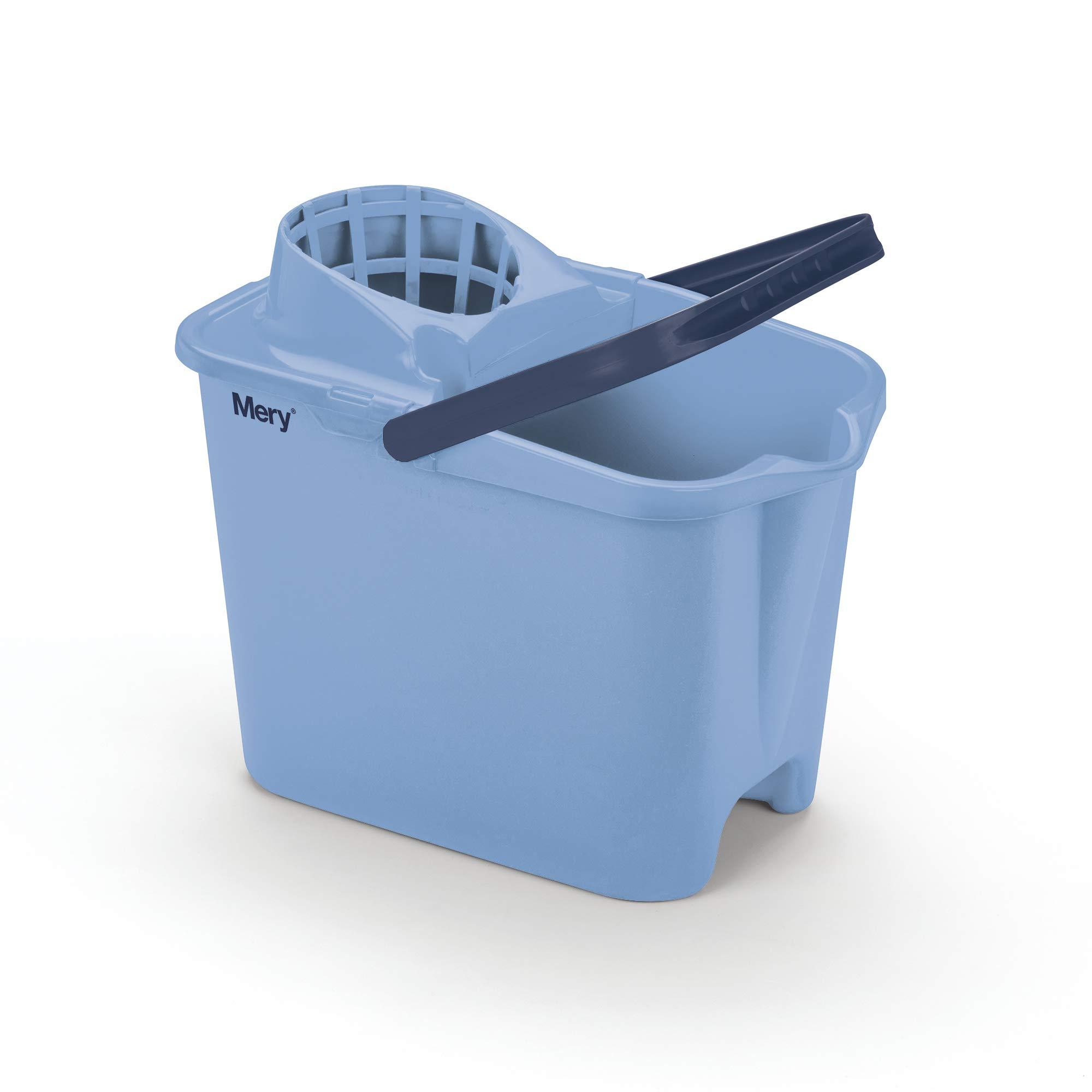 Mery 315.31 Cubo con Escurridor, Azul, 38 x 26 x 33 cm product image